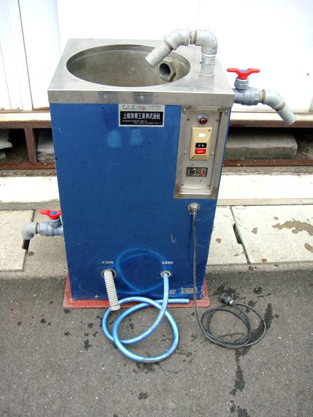 中古 上根精機 自動洗米機